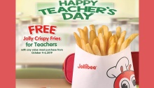 jollibee free fries teachers day promo FI bordered