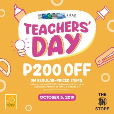 SM Advantage Card Teacher's Day Promo