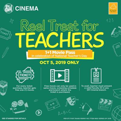 SM Cinema Reel Treat for Teachers