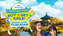 Cebu Pacific Air Super Seat Fest Buy 1 Get 1 Sale FI