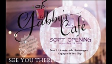 Gabby's Café Soft Opening FI