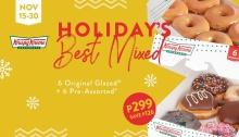 Krispy Kreme Holiday's Best Mixed FI