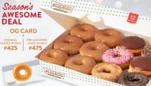 Krispy Kreme Season's Awesome Deal FI