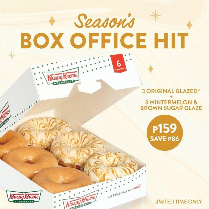 Krispy Kreme Season's Box Office Hit