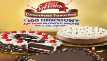 Red Ribbon Chocolate Favorites P100 Discount 40th Year Blowout FI