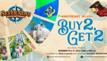 Seven Seas Waterpark 2nd Anniversary Splash Buy 2 Get 2 FI
