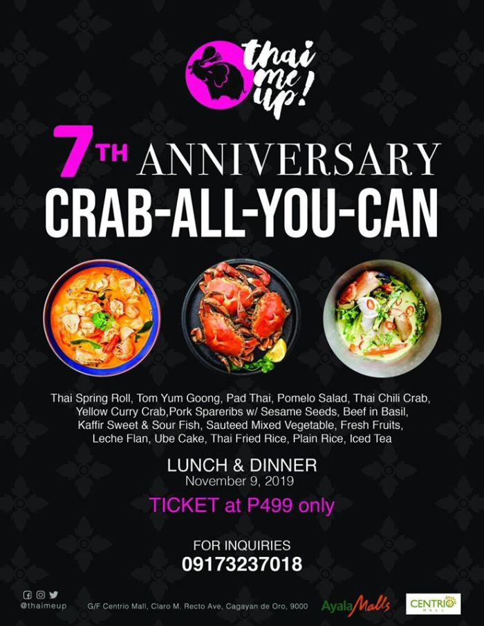Thai Me Up 7th Anniversary Crab-All-You-Can